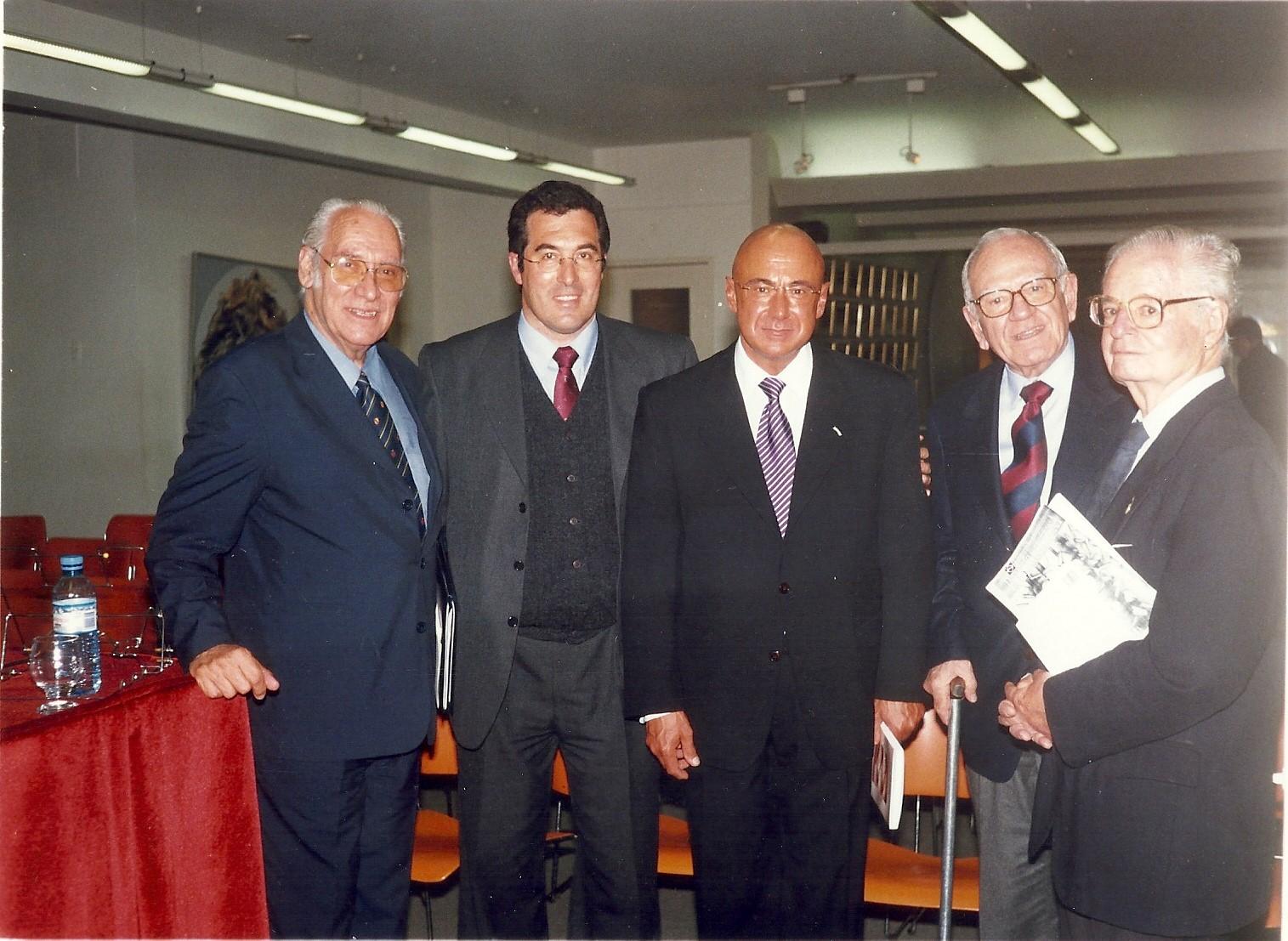 Alberto Methol Ferre Marcelo Gullo, el embajador y ensayista Pineiro Iniguez, Helio Jaguaribe y Luis de Imaz