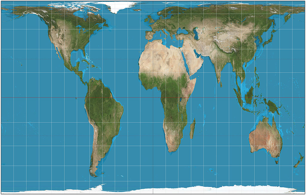 Planisferio de Gall–Peters_projection_SW